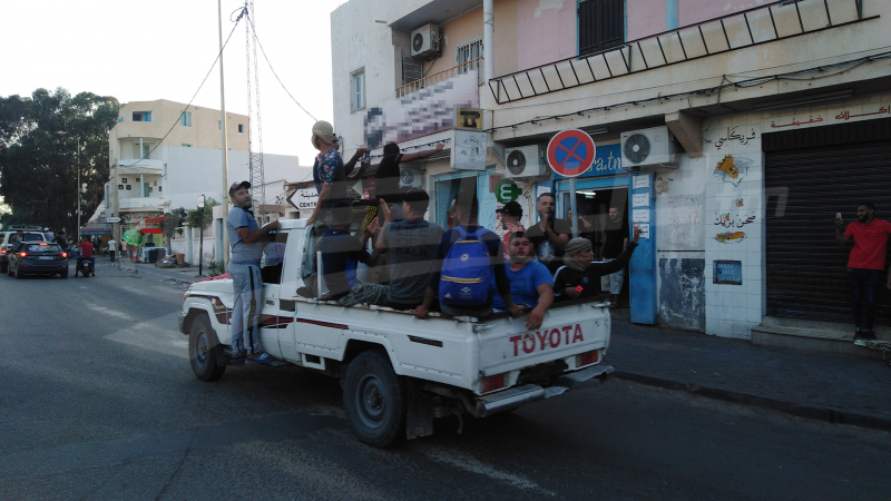 Les jeunes de Tataouine prennent la route vers Al Kamour