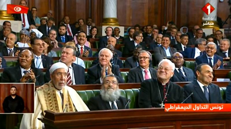Les trois religions présentes à l'investiture de Kais Saied