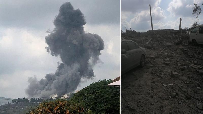 Liban : Puissante explosion dans un bâtiment appartenant au Hezbollah