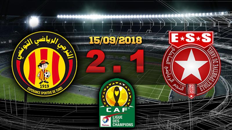 Ligue des champions d'Afrique (1/4 de finale aller) : L'EST bat L'ESS