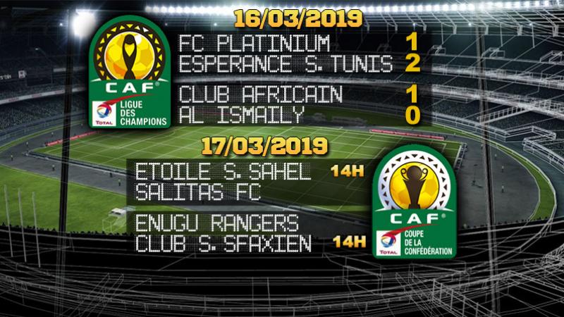 Ligue des champions d'Afrique: Le C.A bat Al Ismaily, mais éliminé