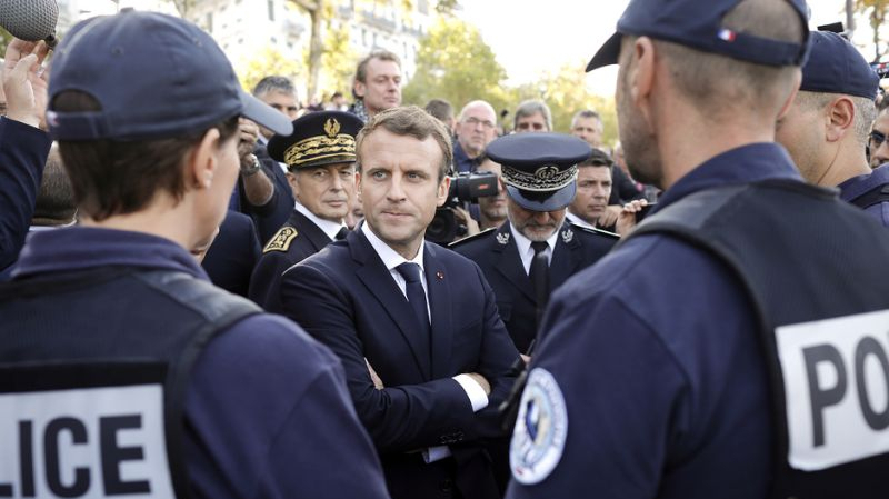 macron-police