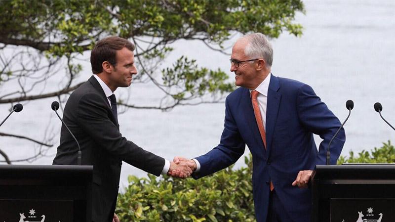 macron-Turnbull