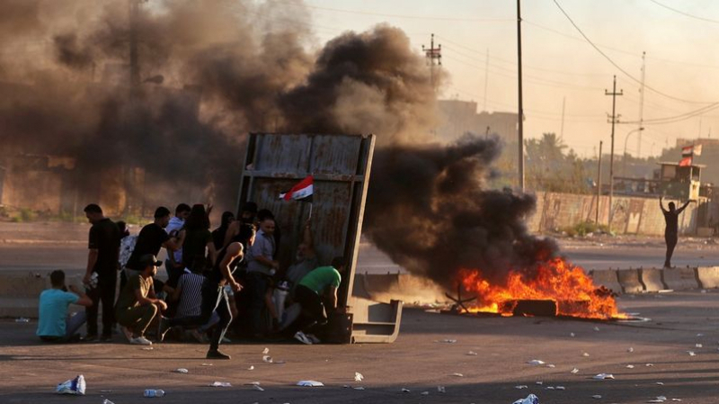 manifestations en Irak