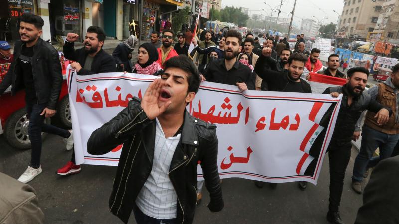 Manifestations-Irak