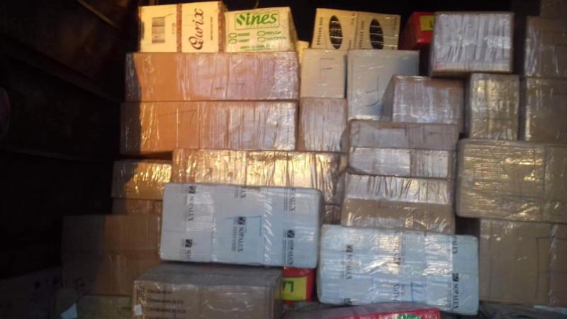 marchandise de contrebande
