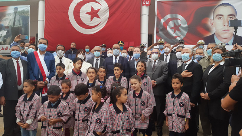 Mechichi à l'école du martyr 'Sami Mrabet' à Akouda