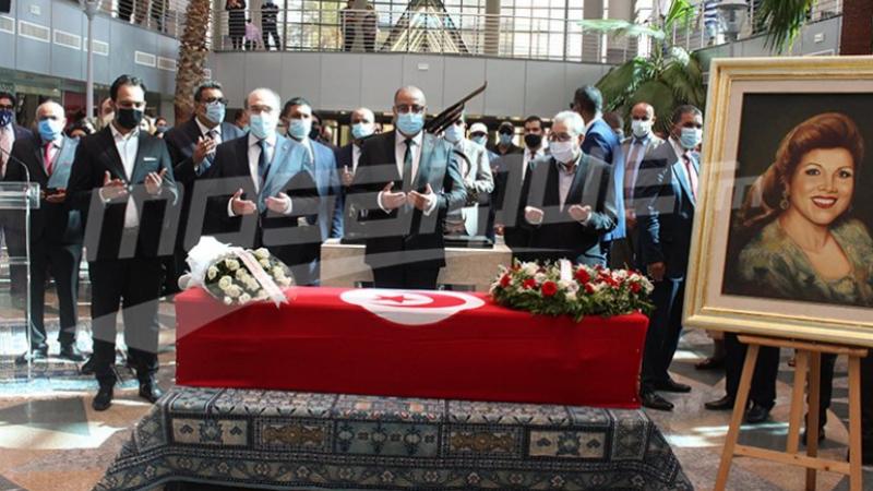 Mechichi prononce l'oraison funèbre de la chanteuse Naama