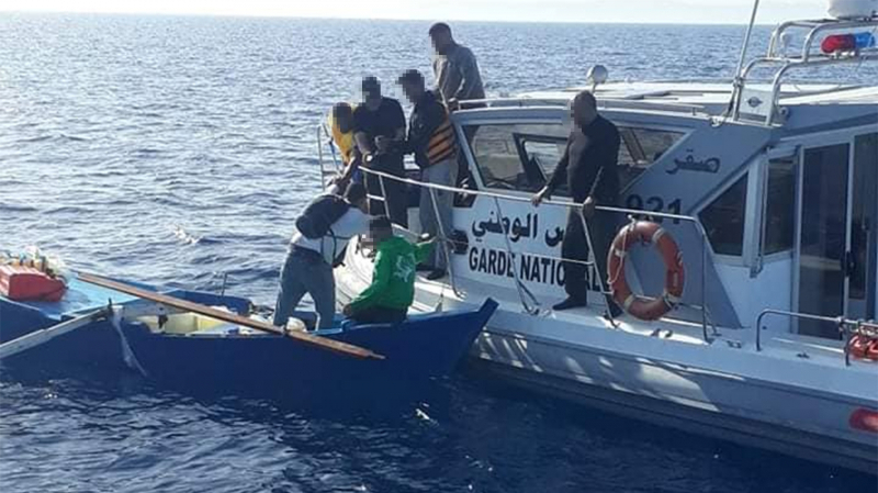 Migration clandestine : Cinq personnes secourues