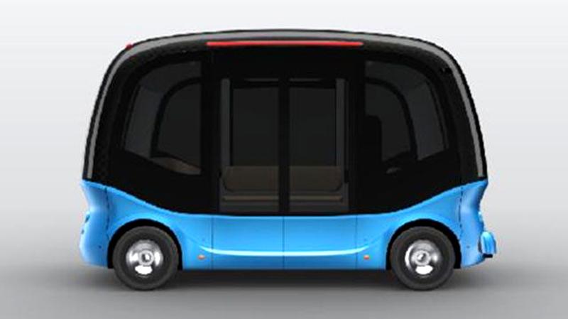 Minibus autonome