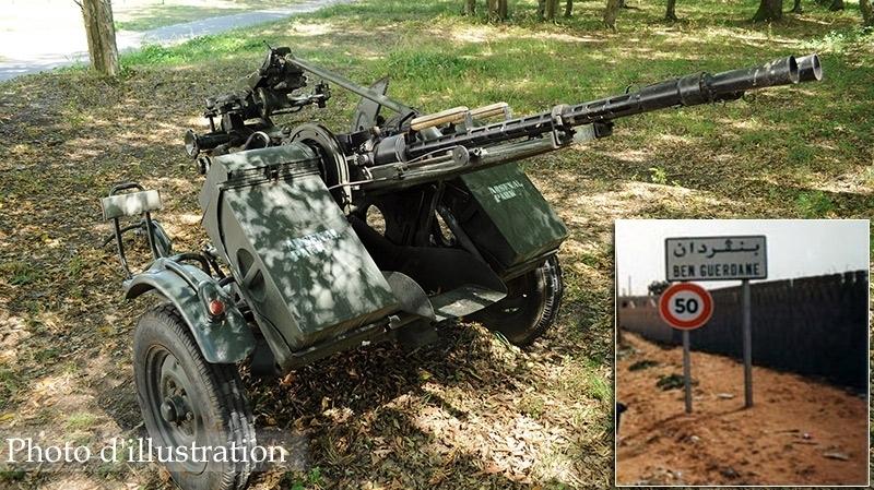 mitrailleuse de defense anti aérienne