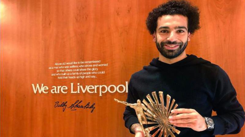 Mohamed Salah élu joueur africain de l'année