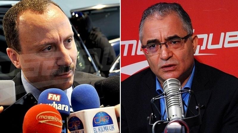 Mohsen Marzouk et Bassem Loukil