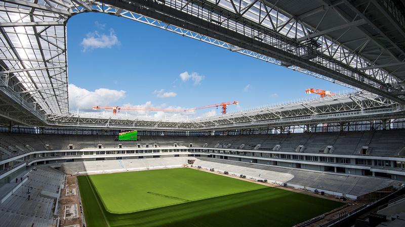 Mondial 2018 : inauguration prochaine du stade de Kaliningrad