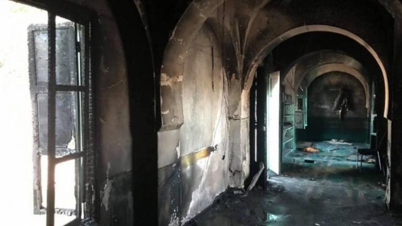 mosquée incendiée