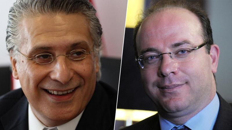 Nabil Karoui, Elyes Fakhfekh