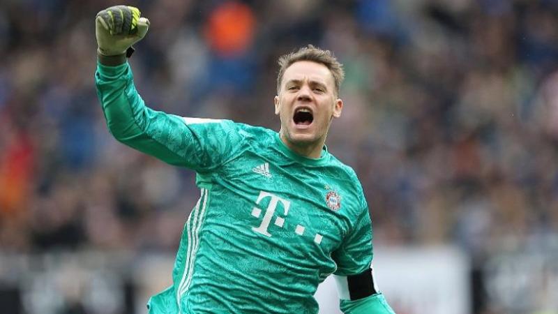 Neuer prolonge son contrat avec le Bayern jusqu'en 2023