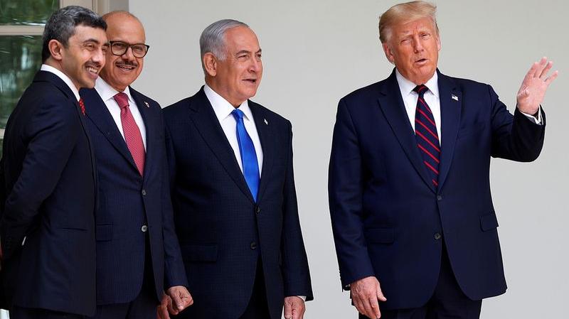 Normalisation avec Israël:  Les Emirats et le Bahreïn signent l'accord