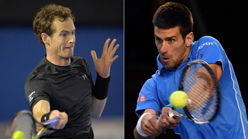 Novak Djokovic -Andy Murray