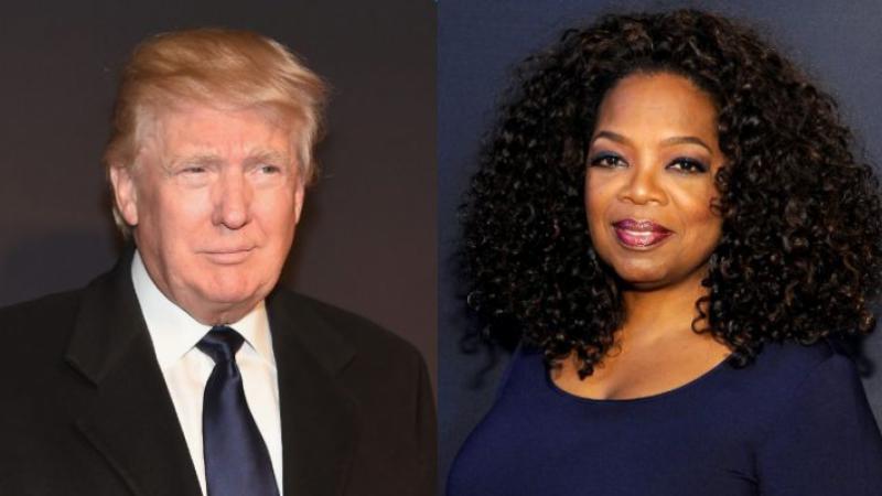 Oprah Winfrey & Donald Trump