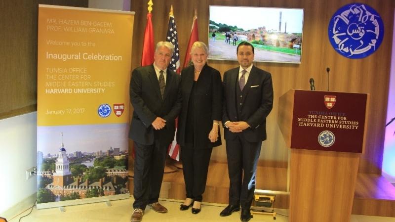 Ouverture du Centre des Etudes sur le Moyen Orient de Harvard à Tunis