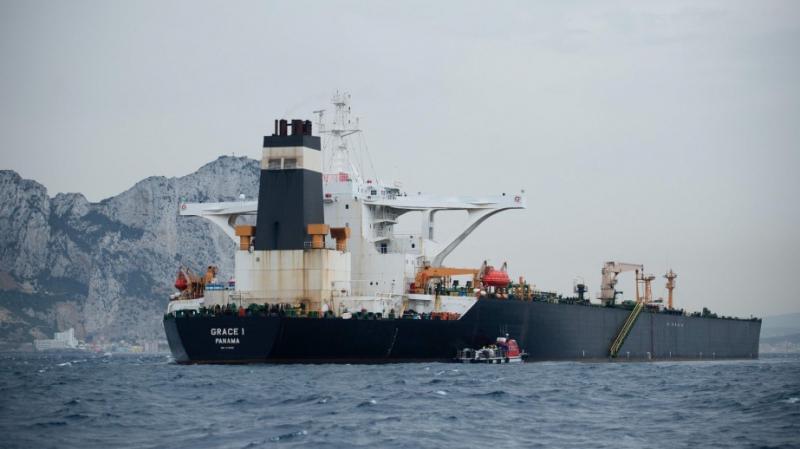 pétrolier iranien