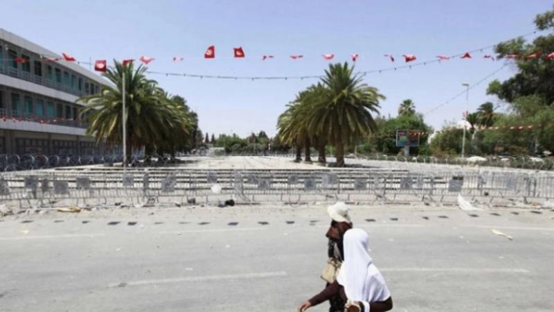 Place du Bardo cloisonnée: Le ministère précise
