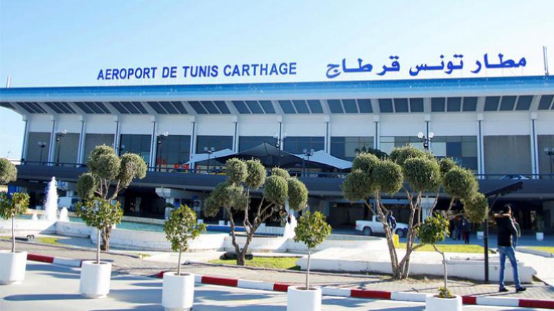 Plus de 14 personnes positives au Covid-19 à l'aéroport Tunis Carthage