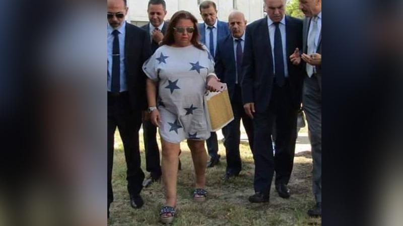Polémique autour de sa tenue, Nadia Zangar réagit