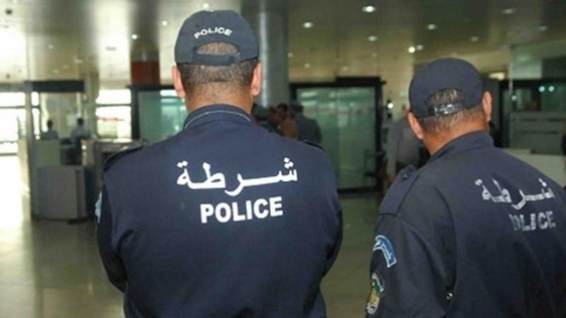police algérienne