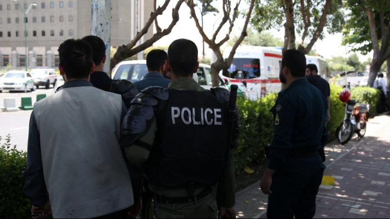 police iranienne