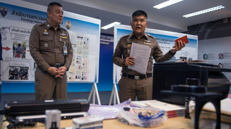 police thaïlandaise