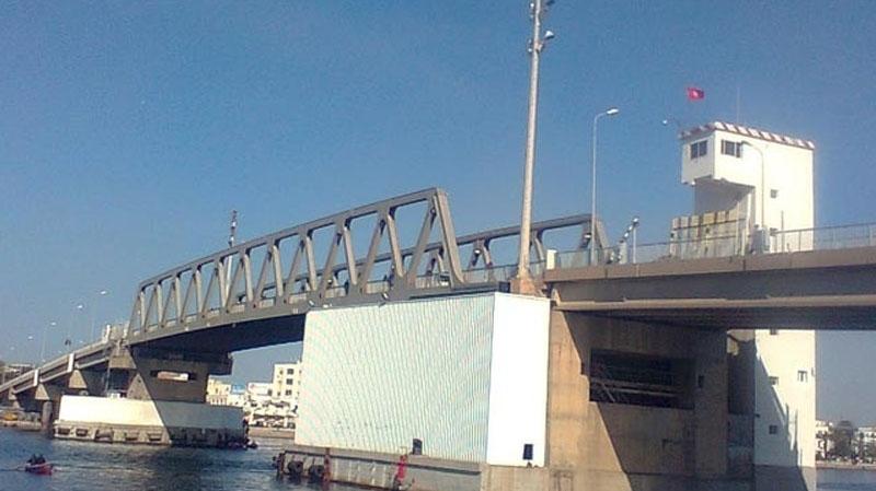 pont mobile de Bizerte