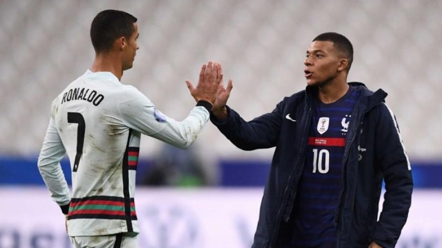 Portugal-France: Le duel Mbappé-Ronaldo