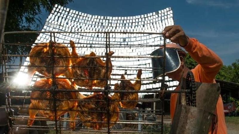 poulet solaire