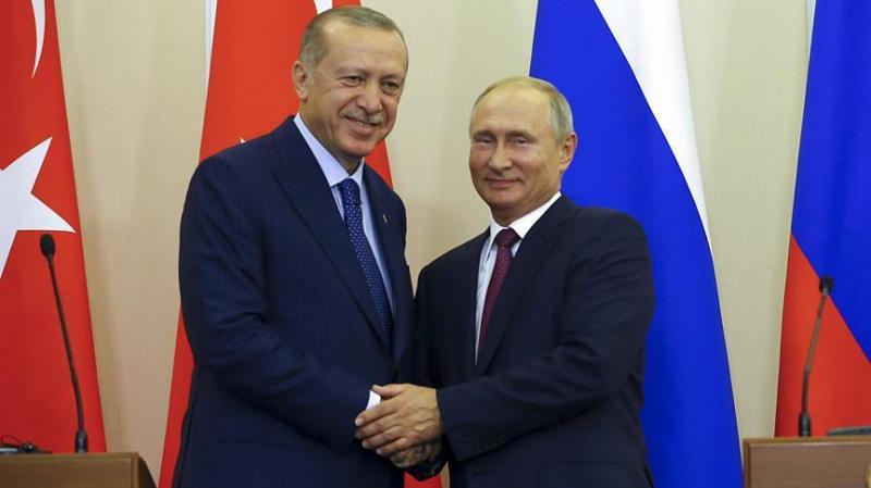Poutine Erdogan