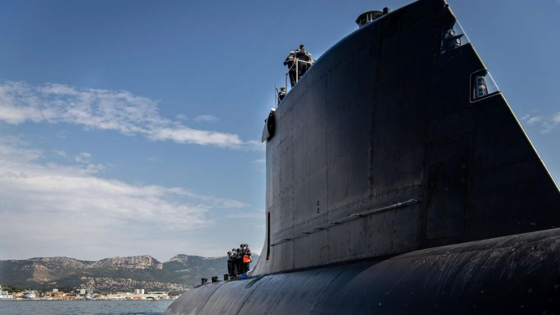 Premier tir de missile de croisière depuis un sous-marin français