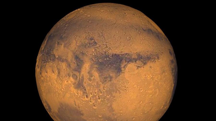 Première image de Mars par la sonde ''Espoir'' des Emirats