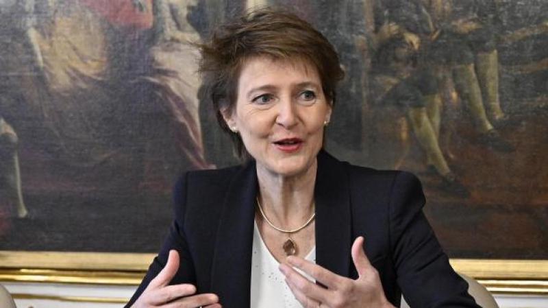 présidente suisse