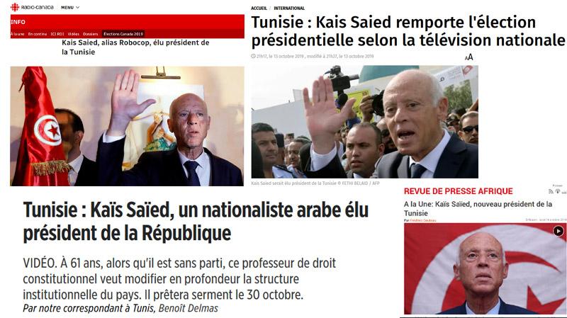 Présidentielle : la presse internationale en parle