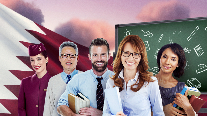 Qatar Airways offre 21 000 billets d'avion aux enseignants
