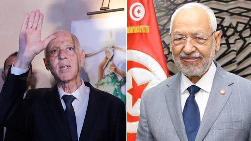 Rached Ghannouchi, Kaïs Saïed