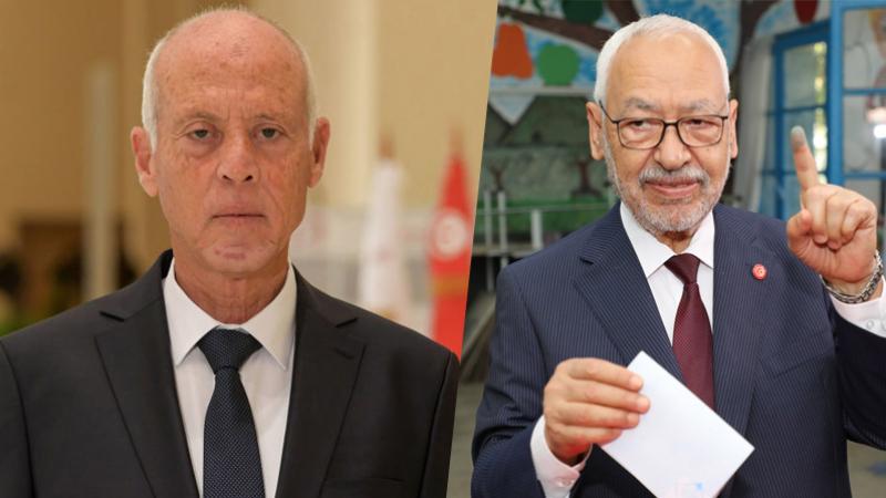 Rached Ghannouchi, Kais Saied