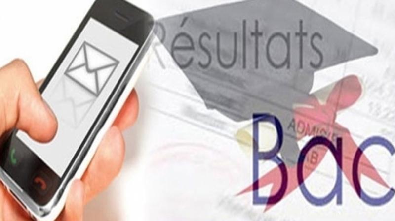 Résultats de la session de contrôle du bac : Inscription par SMS
