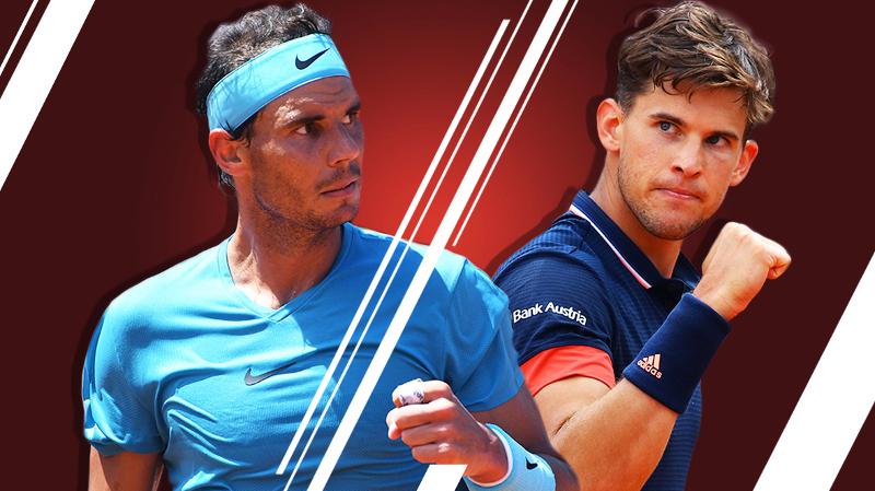 Roland Garros: Encore une finale Thiem-Nadal
