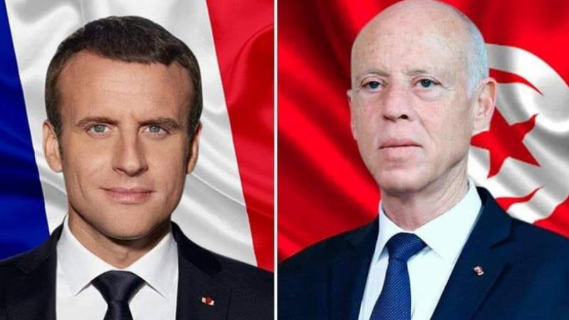 Saied à Macron: Nous tenons à la souveraineté de la Libye
