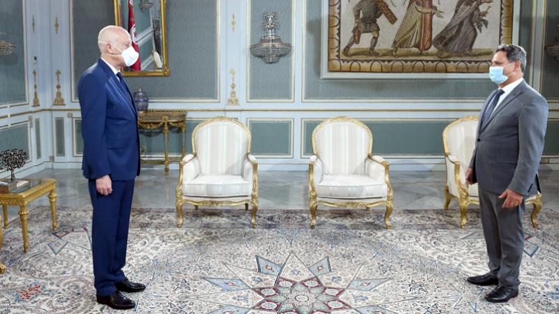Saïed reçoit le président du syndicat des journalistes