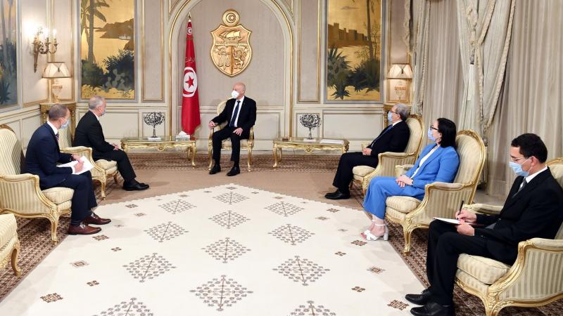 Saïed reçoit les lettres d'accréditation de 4 nouveaux ambassadeurs