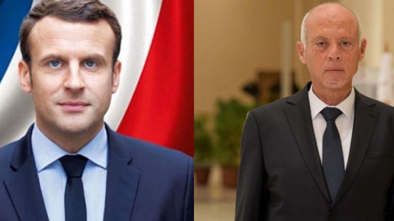 Saied reçoit une communication téléphonique de la part de Macron