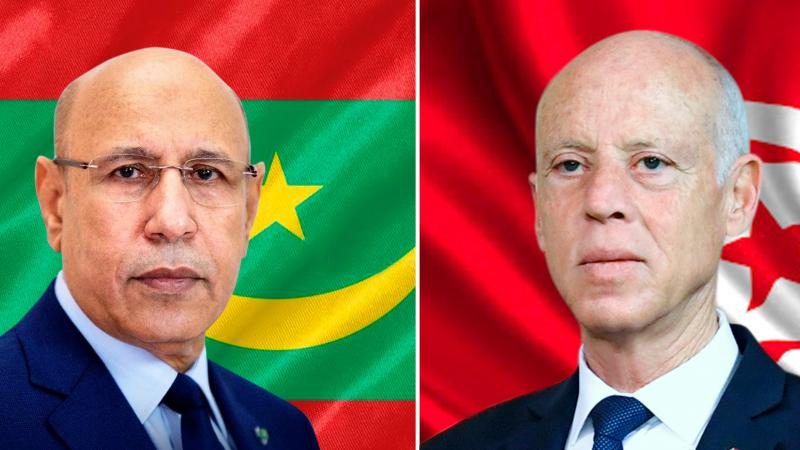 Saied s'entretient par téléphone avec son homologue mauritanien